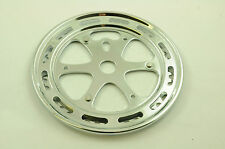 "BMX or CRUISER 1/8"" 44T CHROME CHAINRING WITH GUARD SUIT OPC OR 3 PIECE CRANKS"