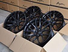 Breyton GTS matt black Felgen 2x 8,5x19 + 2x 9,5x19 Zoll für BMW 5er F10 / F11