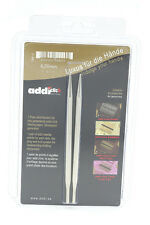 US 10 addi click LONG LACE needle tips 6mm