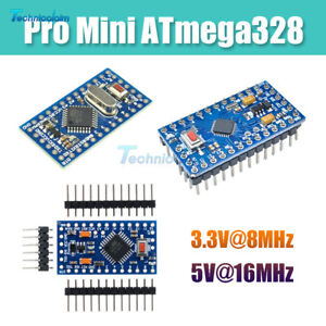 Pro Mini 3.3V 8M 5V 16M atmega328 Replace ATmega128 Arduino Compatible Nano New