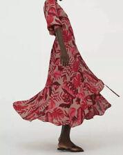 Johanna Ortiz X H&M Wrap Dress Summer Spring Crepe S Designer Collaboration