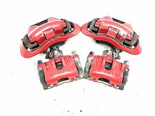 07-13 Mazda Speed 3 MS3 Turbo Red Front/Rear Caliper Complete Set (x4) OEM *AA*