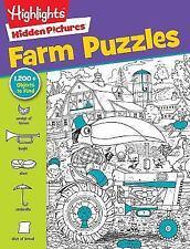 Highlights Hidden Pictures Favorite Farm Puzzles (Favorite Hidden Pictures)