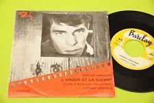 CHARLES AZNAVOUR 7L'AMOUR ET LA GUERRES ORIG ITALIE OST '60
