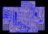 PCB: CHORUS CE1- TDA1022 512 STAGE BBD
