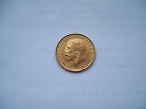 1913 GEORGE V GOLD SOVEREIGN