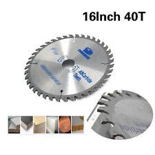 16 Inch Carbide Circular Saw Blade For Cutting Wood Aluminum Hole 30mm 40 Teeth