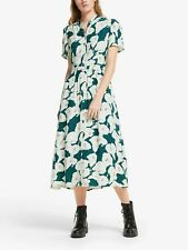 BNWT Somerset Alice Temperley Peacock Lily Dress Green UK 10 RRP £99
