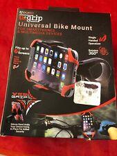 Aduro U-Grip Plus Universal Bike Mount, for Motorcycle, Handlebar, Bicycle New