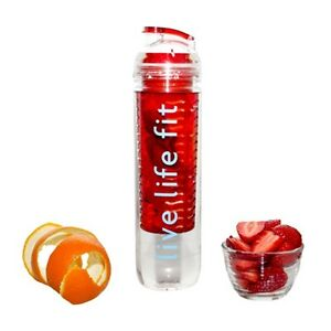 Fitfuser (Infuser) Water Bottle for Health, Fitness & Sports Performance
