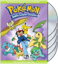 Pokemon: Johto League Champions - Comp Collection DVD
