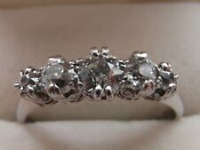 Q73 Ladies 18ct white gold 1 carat Old Brilliant cut VS2 Diamond eternity ring