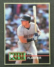 PHIL PLANTIER Rare LARGE 1992 Gold RBI Card #19 in New Toploader