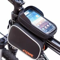Universal Waterproof Bicycle Frame  Touch Screen Front Phone Holder