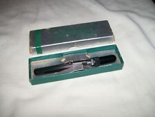 Vintage Eisele Rectal Fever Glass Thermometer Ecometer with matching certificate