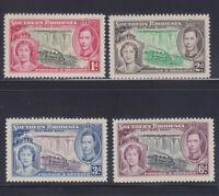 Southern Rhodesia, 1937 KGVI Coronation, SG 36-9, Lot 7135