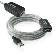 15FT USB 2.0 Extension A/A Cable with Booster NEW