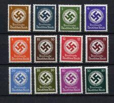 German Reich WW II : Swastika set from 1942 - mint