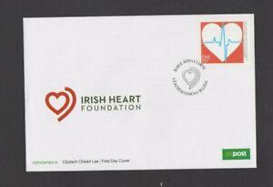 Ireland 2016 Irish Heart Foundation FDC  per scan