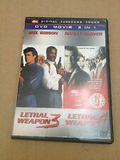 LETHAL WEAPON 3 AND 4. 2 IN 1 DVD