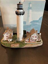 Harbour Lights #213 Fenwick Island, De Lighthouse, #498/10,000, Coa, 1998