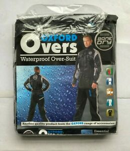 Oxford Bone Dry Waterproof Over Suit / Over-suit for Motorbikes Motorcycle - XL