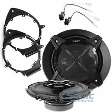 "Sony XS-FB1630 90W RMS 6.5"" Speaker Install Kit for Select 2005-15 GM Vehicles"