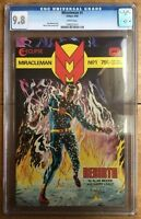 Miracleman #1 Alan Moore 1985 White Pages CGC 9.8 #1346321011