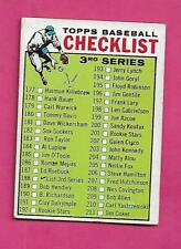1964 TOPPS # 188 UNMARKED CHECKLIST EX-MT CARD (INV# A8551)