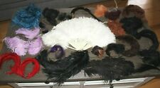 Antique Edwardian Millinery Ostrich & Other Feathers Plumes Hat Trim Headdress