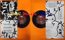 LP 45 7'' HEYDAY ACOUSTIC SAMPLER X tal Pat thomas Sonya hunter 1989 cd mc dvd
