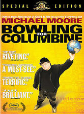 Bowling for Columbine (DVD, 2003) Michael Moore School Shooting Documentary New