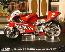 MOTO BIKE HONDA RS250RW ROBERTO ROLFO 2004 1/24 ROSSO