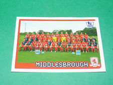 N°405 MIDDLESBROUGH ENGLAND MERLIN PREMIER LEAGUE FOOTBALL 2007-2008 PANINI
