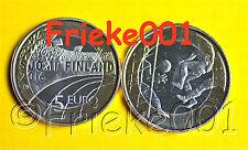 Finland - Finlande - 5 euro 2016 unc.(Voetbal)