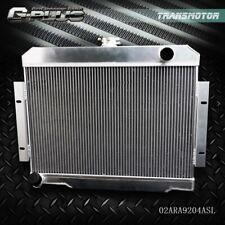 GPLUS Full Aluminum Racing Radiator for 72-86 Jeep CJ Cj5 Cj6 Cj7 3.8-5.0 MT