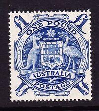 AUSTRALIA 1948-56 £1 BLUE SG 224c MINT.