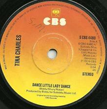 TINA CHARLES - DANCE LITTLE LADY DANCE /WHY - CBS 1976 - 70s POP FUNK/SOUL DISCO