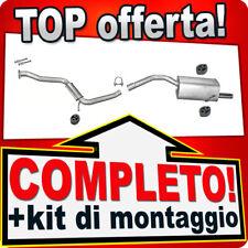 Scarico Completo ALFA ROMEO 156 2.5 V6 24V 3-Volumi Familiare 1997-2006 923