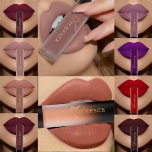 Waterproof Long Lasting Velvet Matte Lipstick Makeup Liquid Lip Gloss 24 Colors