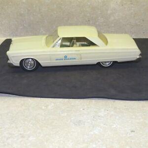 Vintage 1965 Plymouth Fury III, Driver Education Dealer Promo Car