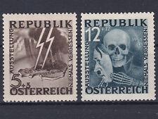 1946 Blitz - Totenmaske (13) + (14) Postfrisch ** MNH € 2.600,-- Unverausgabt