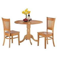 3 Piece Kitchen Nook Dining Set-Small Table & 2 Dinette Chairs Chairs