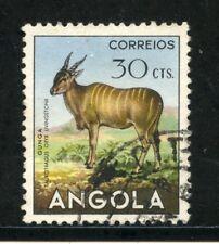 1953 - ANGOLA - 30c. GUNGA - USATO - LOTTO/29024