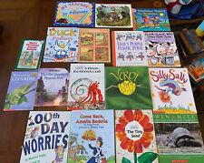 Lot of 17 Children's books, ERIC CARLE,AMELIA BEDELIA, Silly Sally Doreen Cronin