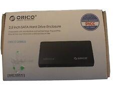 ORICO Black 2.5 Inch HDD Case USB3.0 Micro B External Hard Drive Disk Enclosure