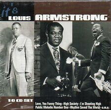 LOUIS ARMSTRONG - IT'S LOUIS ARMSTRONG - BOX 10 CD (NUOVO SIGILLATO)