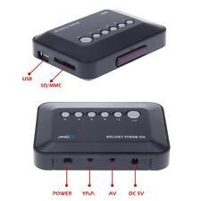 1080x720 HD Multi TV Media Film Player Box SD/USB AV YPbPr 720p VGA Classical
