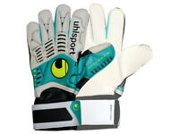 Uhlsport Ergonomic Soft Torwarthandschuh Goalkeeper Gloves Torhüter TW HS Gr.11
