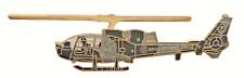 Westland Gazelle Helicopter Royal Marines RM Pin Badge